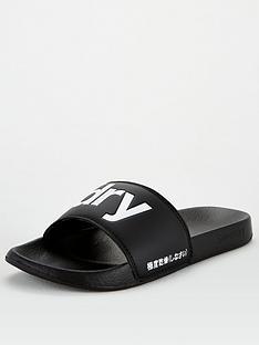 superdry-logo-pool-sliders-black