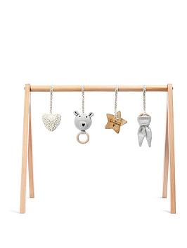 the-little-green-sheep-a-frame-wooden-baby-play-gym-amp-charms-setnbsp