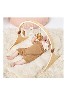 the-little-green-sheep-curved-frame-wooden-baby-play-gym-amp-charms-set