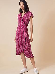 monsoon-fergie-ruffle-wrap-mesh-midi-dress-pink