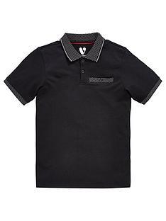 v-by-very-boys-contrast-collar-polo-shirt-black