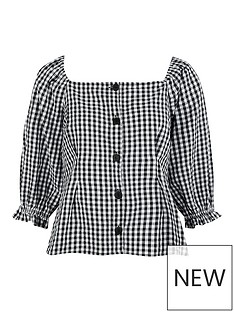 monsoon-dorian-gingham-blouse-black