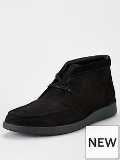 clarks-oakland-top-nubuck-boots-black
