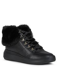 geox-d-rubidia-leather-ampnbspfaux-fur-wedge-trainers-black
