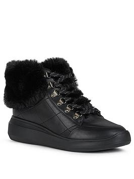 geox-d-rubidia-leather-ampnbspfaux-fur-wedge-trainers-black