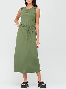 v-by-very-sleeveless-tie-waist-midaxi-dress-khaki