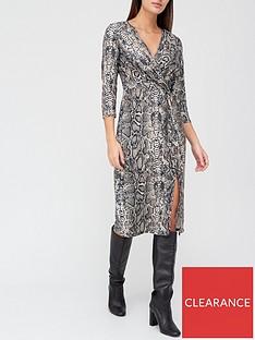 v-by-very-snake-printed-wrap-midi-dress-snake
