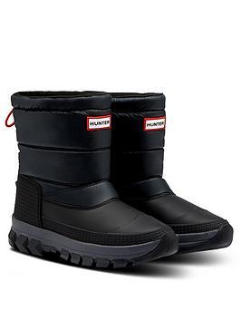 hunter-originalnbspinsulated-short-snow-boot-black