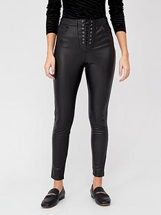 v-by-very-lace-up-fly-faux-leather-skinny-trousers-black