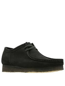 clarks-suede-wallabee-shoes-black