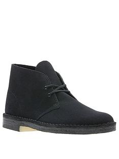 clarks-originals-suede-desert-boots-black