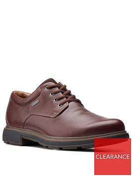 clarks-un-treadlo-gore-tex-leather-shoes-dark-brown