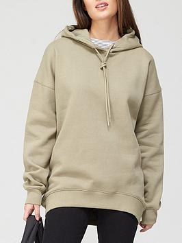 V By Very The Essential Oversized Hoodie - Khaki