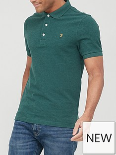 farah-blanes-short-sleeve-polo-shirt-emeraldnbsp