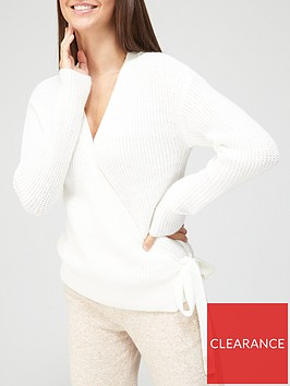 v-by-very-wrap-cardigan-ivory