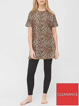 v-by-very-longline-t-shirt-amp-legging-pyjamas-animal