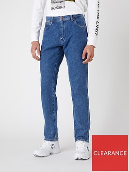 wrangler-texas-tapered-jeans-blue