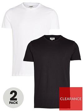 wrangler-2-pack-t-shirt-blackwhite