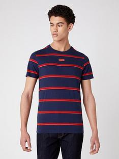 wrangler-stripe-logo-t-shirt-navy