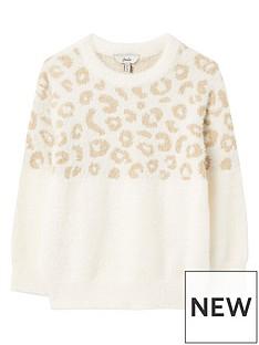 joules-girls-niamh-leopard-print-jumper-multi