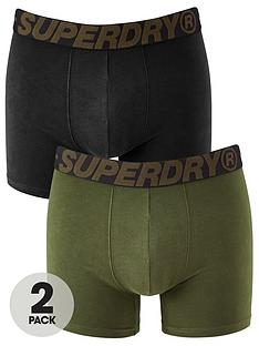 superdry-2-pack-boxer-shorts-khaki