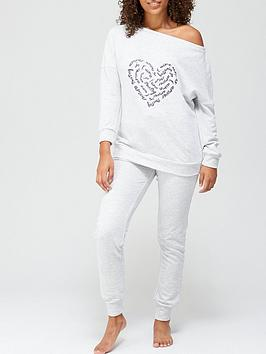 v-by-very-heart-slouchy-loopback-lounge-set-grey-marl