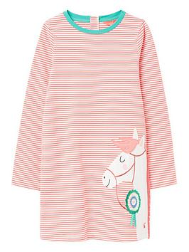 joules-girls-rosalee-pony-long-sleeve-dress-pink