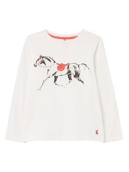 joules-girls-bessie-horse-long-sleeve-t-shirt-white