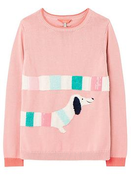 joules-girls-geegee-dog-knitted-jumper-pink