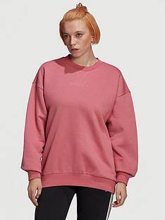 adidas-originals-oversized-sweater-maroon