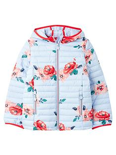 joules-girls-kinnaird-floral-packaway-padded-jacket-blue