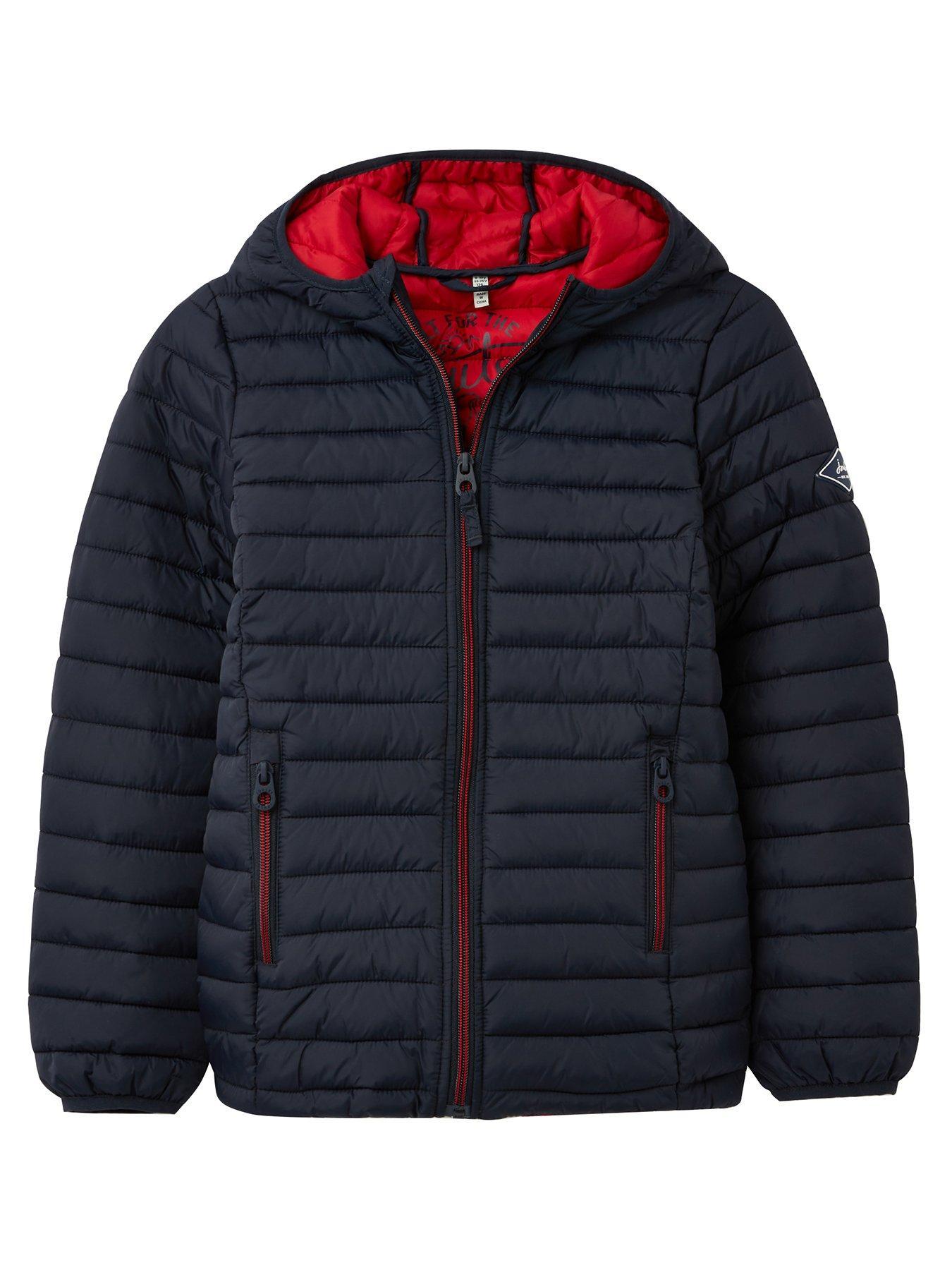 Joules Boys Cairn Packaway Coat