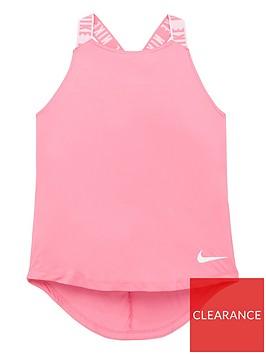 nike-girls-dri-fitnbsplogo-tape-tank-pink-white