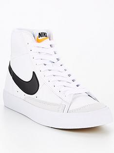 nike-blazer-mid-77-junior-white-black