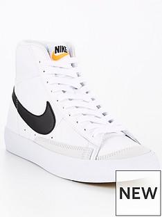 nike-blazer-mid-77-junior-white-black