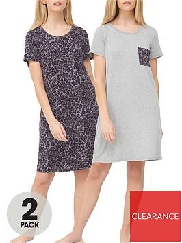 v-by-very-2-pack-printed-nightdressnbsp--greyanimal