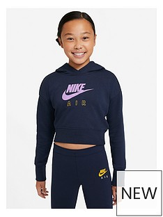 nike-oldernbspgirls-nsw-air-crop-french-terry-hoodie-blackgold