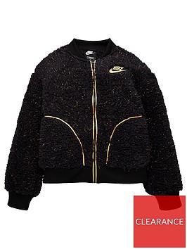 nike-girls-nsw-sherpa-shine-full-zipnbspbomber-jacket-black-gold