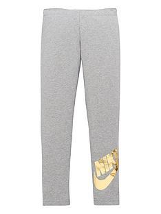nike-girls-nsw-favorites-shine-legging-grey