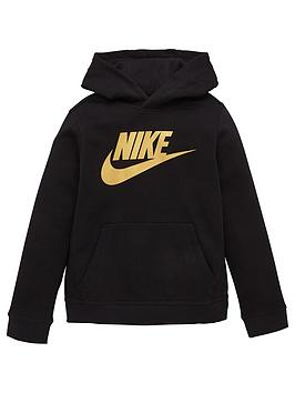 nike-boys-nsw-sportswearnbspclub-fleece-hoodie-black-gold