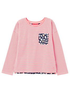 joules-girls-bliss-striped-jersey-top-pink