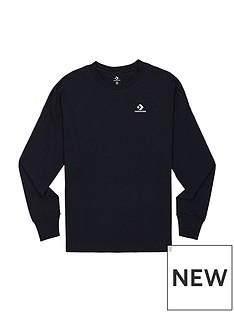 converse-left-chest-long-sleeve-t-shirt-black
