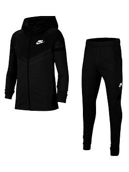 nike-unisex-nsw-poly-woven-overlay-tracksuit-black-white
