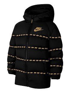 nike-unisex-nswnbspdown-jacket-blackgold