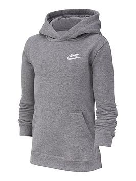nike-boys-nsw-club-pull-onnbsphoodie-grey-heather