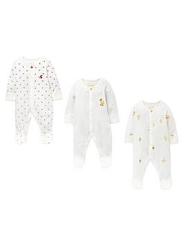 joules-baby-unisex-3-pack-duck-babygrows-white