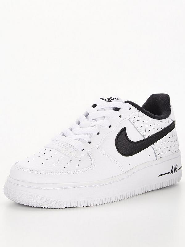 Air Force 1 Swooshfetti Pack Junior Trainer - White/Black