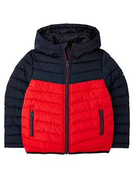 joules-boys-bamford-chevron-colourblock-padded-coat-navyred