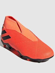 adidas-junior-nemeziz-laceless-193-firm-ground-football-boot-red-black