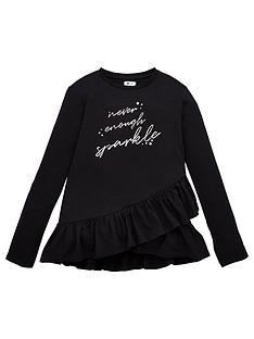 v-by-very-girls-ruffle-never-enough-sparkle-long-sleeve-t-shirt-navy